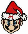 Christmas in Mushroom Kingdom embroidery design