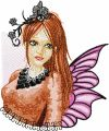 Modern Fairy 5 embroidery design