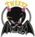 Tweety the Best embroidery design