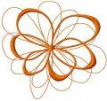 Swirk decoration 5 embroidery design