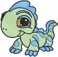 Dragon Petshop embroidery design