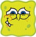 SpongeBob Smile 3  embroidery design