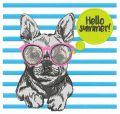 Hello summer 3 embroidery design