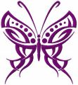 Tribal Butterfly 2 embroidery design