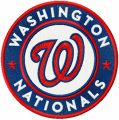 Washington Nationals Logo round embroidery design