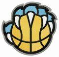 Memphis Grizzlies alternative logo 2018/19 embroidery design