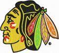 Chicago Blackhawks logo embroidery design