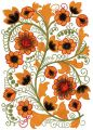 Flower pattern 6 embroidery design