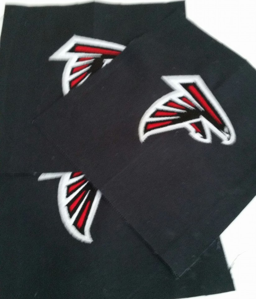 Atlanta Falcons Logo design on pillowcase2