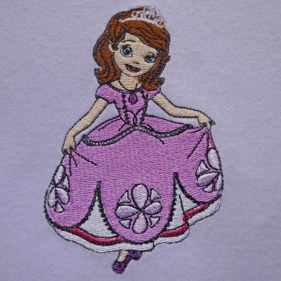Sofia The First design on babywear2