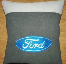 Ford Logo design on pillowcase5