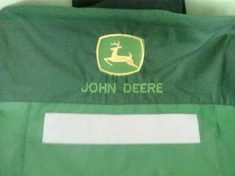 John Deere logo design embroidered2