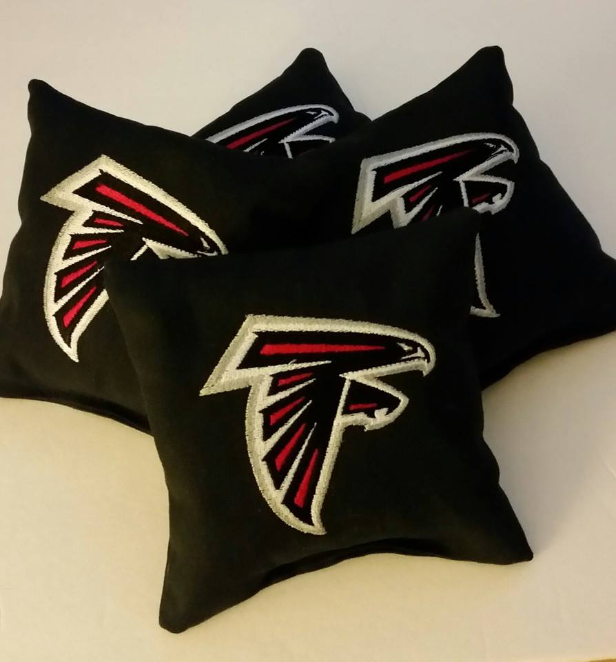 Atlanta Falcons Logo design on pillowcase1