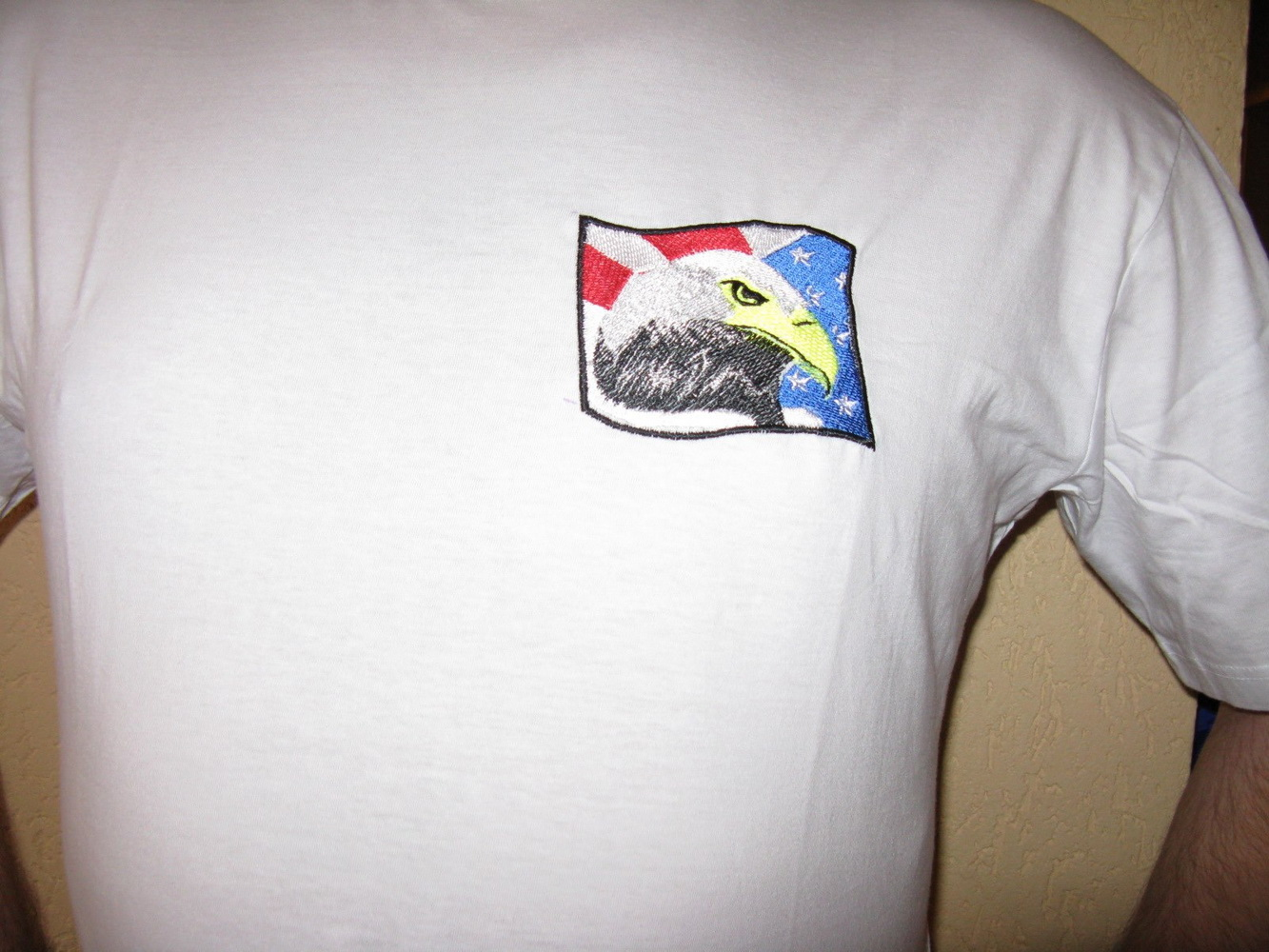 American eagle design on t-shirt 1