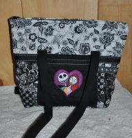 Jack and Sally design on bag12