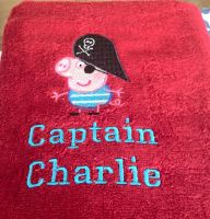 Peppa Pig pirate design on towel2