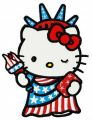 Hello Kitty Statue of Liberty