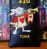 Rabbit trumpeter design on bag1