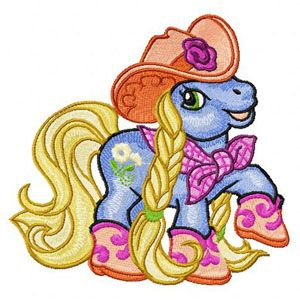 Little Pony Country Style