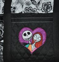 Jack and Sally design on bag11