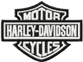 Harley Davidson   machine embroidery design