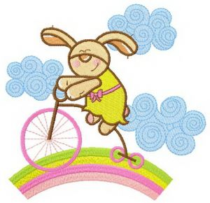 Bunny cycling