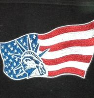USA flag design on jacket2