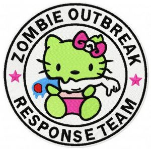 Hello Kitty zombie outbreak response team 2