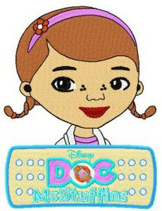 Doc McStuffins and logo