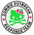 Hello Kitty zombie outbreak response team