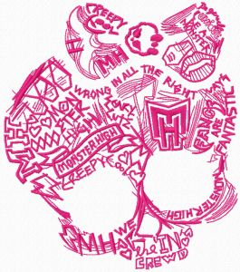 Monster High sketch logo