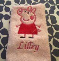 Peppa Pig 1 design on towel36