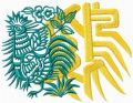 Chinese Rooster free machine embroidery design