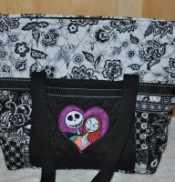 Jack and Sally design on bag10