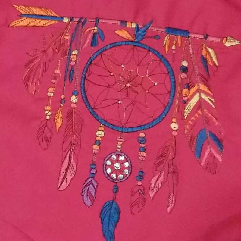 Native American embroidered design