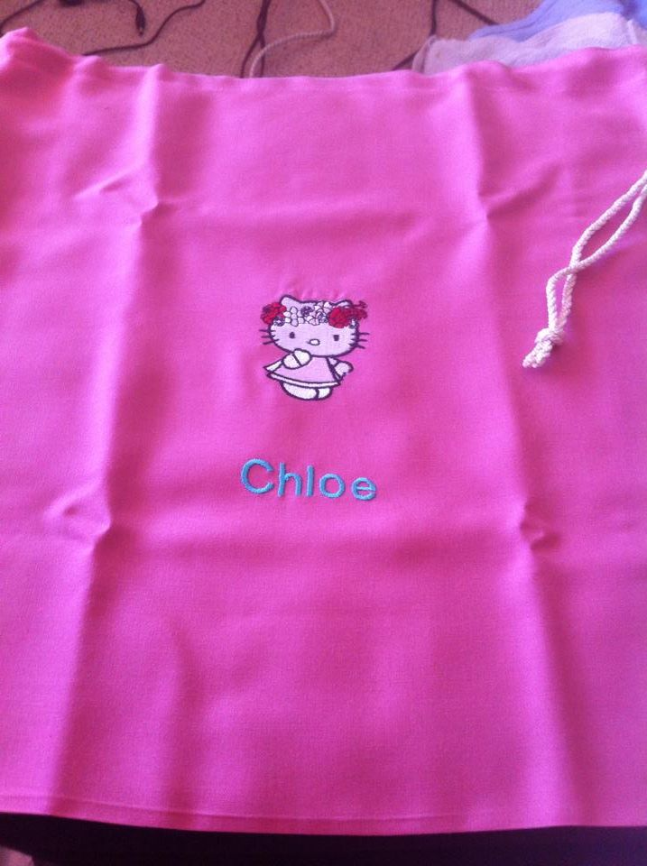 Hello Kitty Spring embroidered
