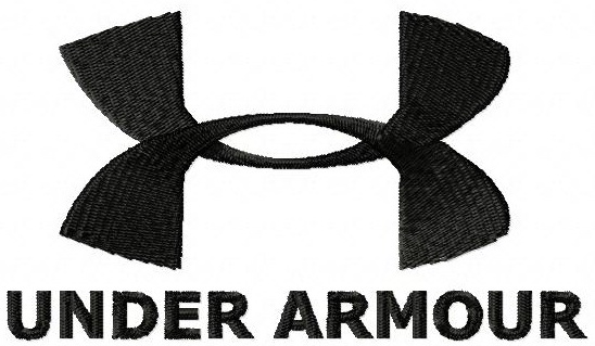 669be1d3c Under Armour logo machine embroidery design