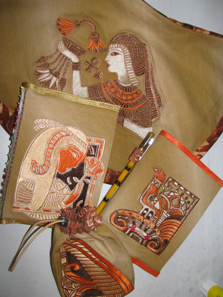 Egyptian machine embroidery designs