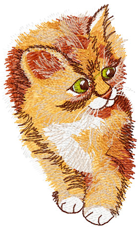 MACHINE EMBROIDERY DESIGNS ON CD OR USB KITTENS DESIGNS
