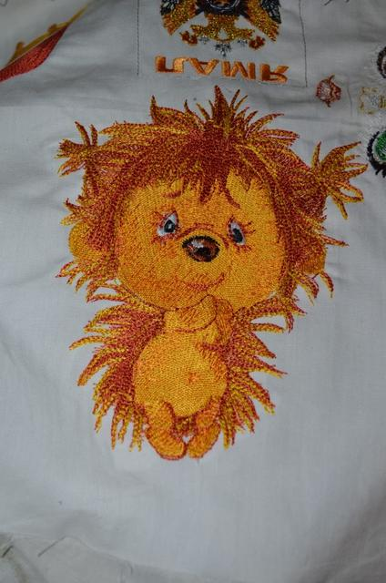 Hedgehog free embroidery design