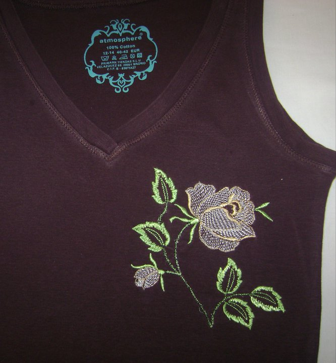 Embroidered free shirt