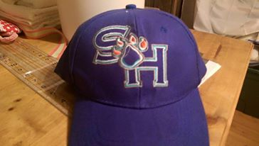 Sam Houston State University embroidery design on cap