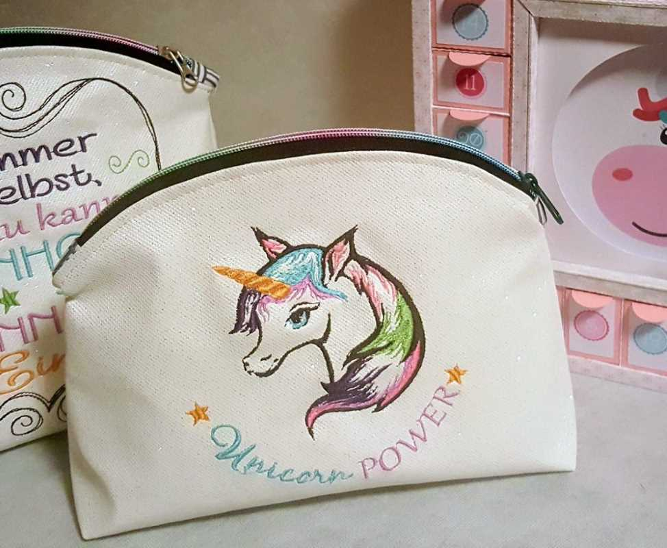 Embroidered small bag for womens trifles