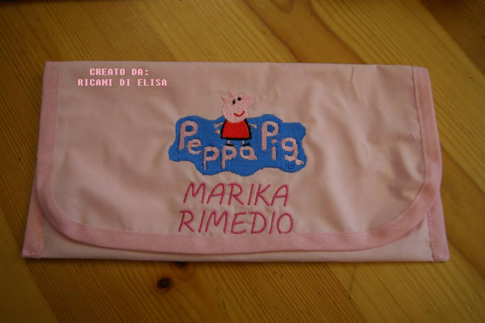 Peppa Pig world design on towel1