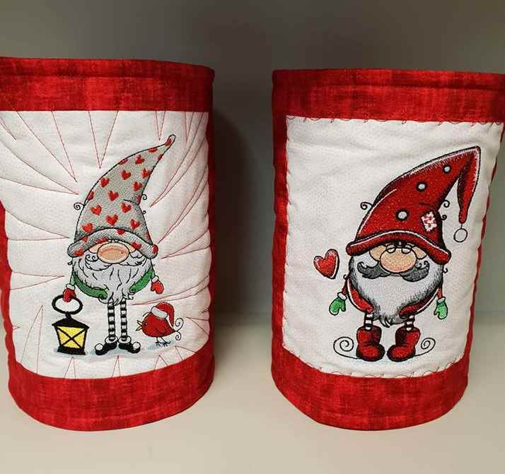 Gifts with Dwarves embroidery designs