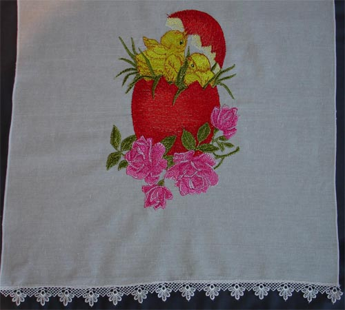 Easter free embroidery design