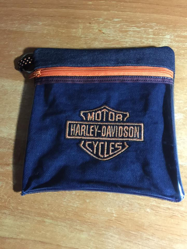 Harley Davidson Logo design on bag3