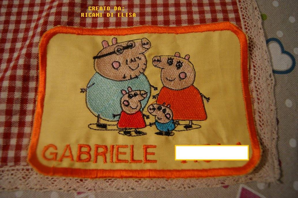 Peppa Pig world design on potholder2