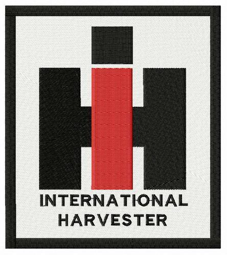 International Harvester Logo >> International Harvester Logo Embroidery Design
