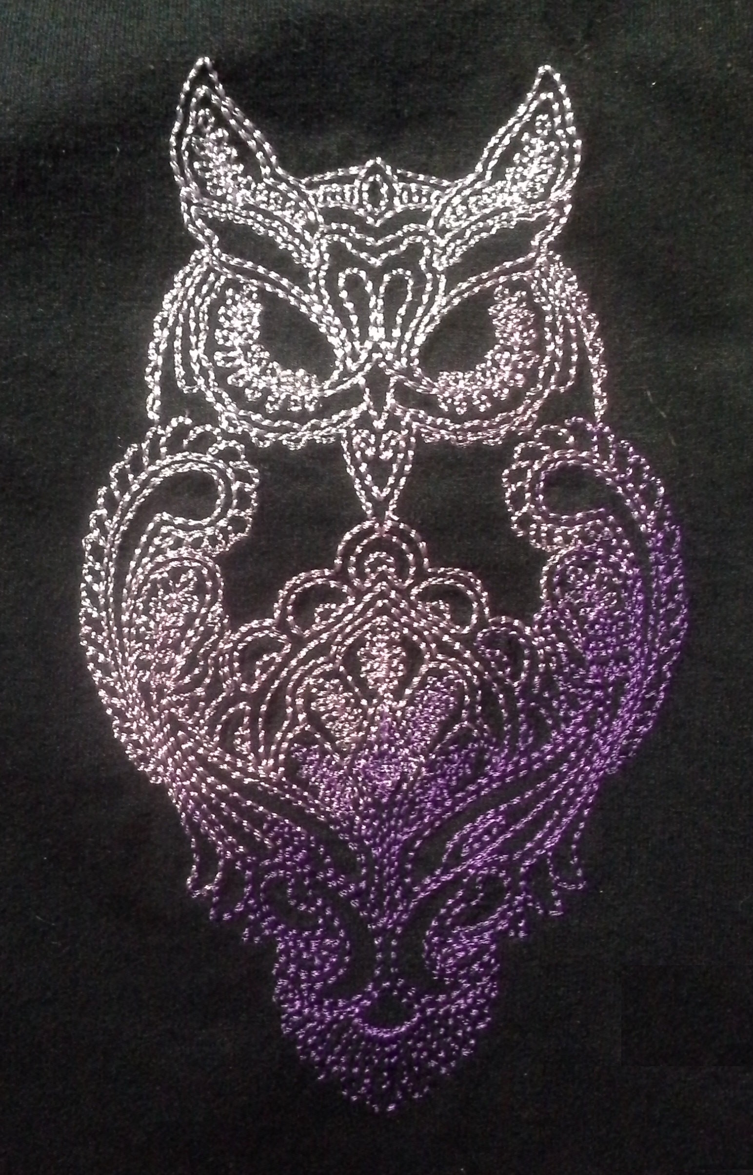 Owl embroidered free design